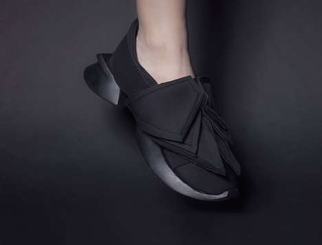 Removable Shell Sneakers - The Y3 Shoes by Chanel Chi are Inspired by Crustaceans