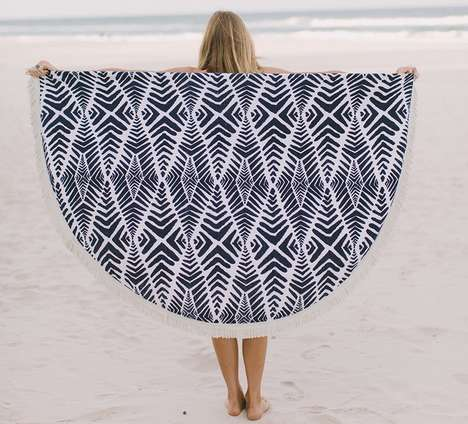 Round Beach Towels - Roundie Towels Make for Stylish and Spacious Beach Accessories