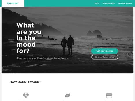 Emotional Designer Marketplaces - Startup Mood Bay Helps You Discover Designers and New Products