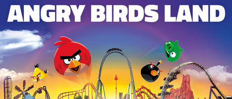 4D Theme Park Experiences - The Angry Birds 4D Experience Brings the Popular Cartoon to Life