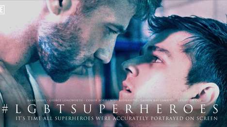 LGBT Superhero Campaigns - Mike Buonaiuto's Trailer Shows What Films Would Be Like with LGBT Leads