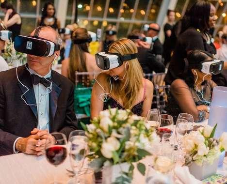 Charity Ball VR Presentations