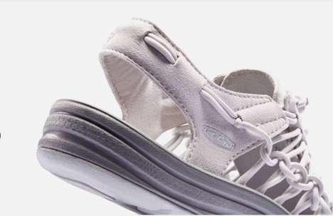 Stylish Hybrid Footwear - UNEEK by Keen is a Cross Between a Sandal and a Trail Sneaker