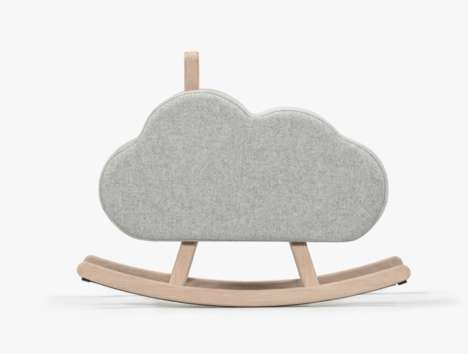 Cloud Rocking Horses - The Iconic Cloud by Maison Deux Rethinks the Classic Children's Toy