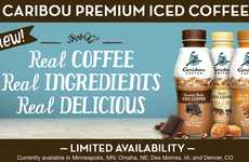 Branded Iced Latte Lines - The Caribou Premium Iced Coffee Collection Can Be Enjoyed on the Go