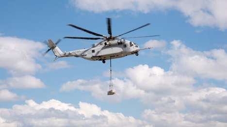 Heavy-Haul Helicopters - The King Stallion Heavy Lift Helicopter Can Carry 12,000-Kilogram Loads