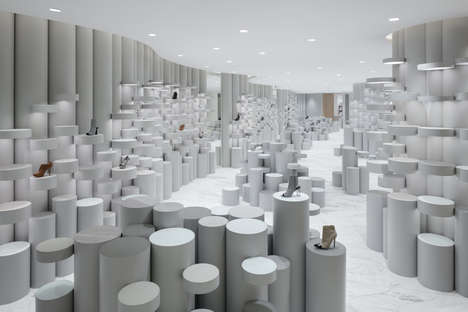 Minimal Futuristic Store Layouts - This Modern Department Store Brings the Future into the Present