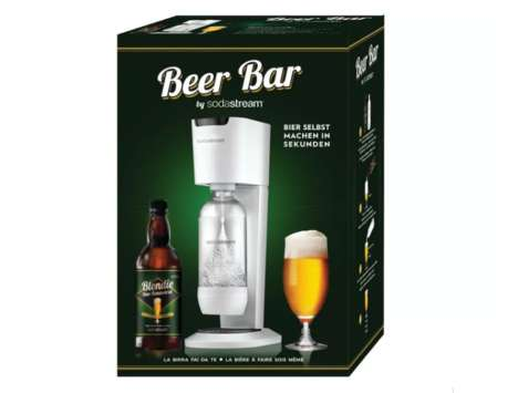 Transformative Beer-Making Machines - The Beer Bar Turns Sparkling Water into Home-Crafted Beer
