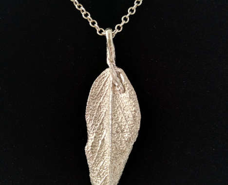 Sage Leaf Necklaces