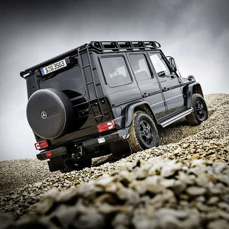 Luxe Off-Road SUVs - The Mercedes G250d Professional is Maintains Style With All-Terrain Capability