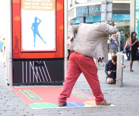 Motion-Sensing Interactive Ads - Walkers Brand Created a Unqiuely Interactive Street Advertisement