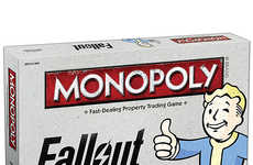 Post-Apocalyptic Board Games - This Themed Monopoly Game Mixes the Classic with 'Fallout 4'