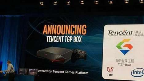 Asian Market Computer Consoles - The Tencent TGP Box is Designed Specifically for the Chinese Market