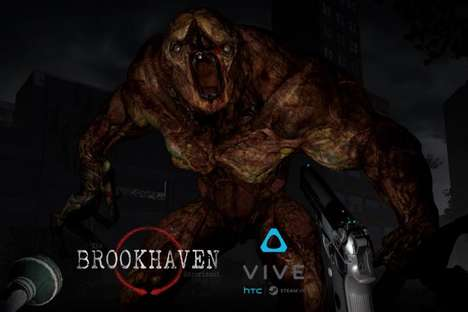 Internet Cafe VR Games - 'The Brookhaven Experiment' Horror Video Game is Coming to Chinese Cafes
