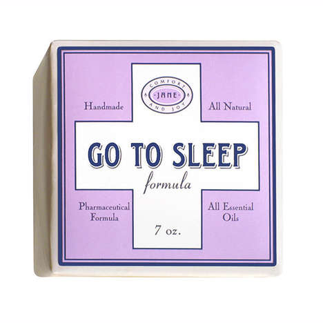 Effervescent Sleep Aid Soaps - The 'Go to Sleep' Bath Bomb Utilizes Oils to Soothe to Tranquility
