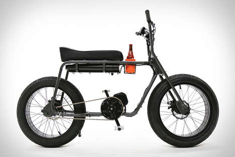 Multi-Terrain Electric Bikes - The Super 73 Electric Cruiser Bike is Designed for the Urban Rider