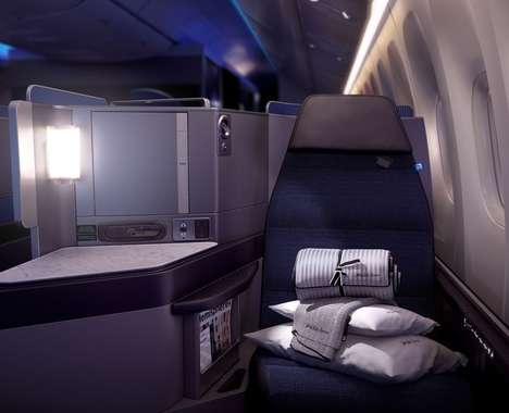 Luxurious Business Class Cabins