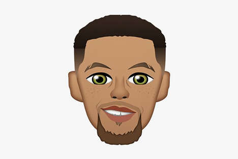 Basketball Player Emojis - Steph Curry Has Been Added to the Now Extensive List of Celebrity Emojis