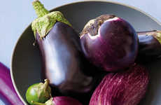 Fleshy Eggplant Hybrids - The 'Meatball Eggplant' is a Meatier Version of the Classic Eggplant
