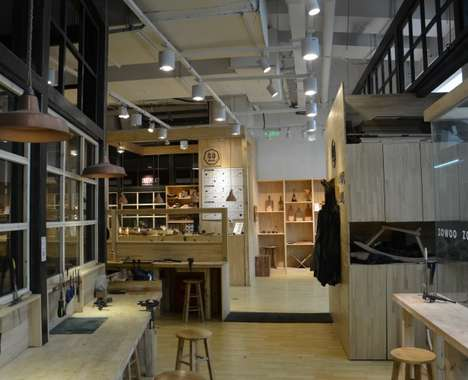 Chinese Carpentry Workshops