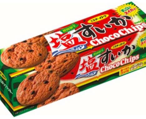 Chocolate Watermelon Cookies