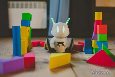 Visual Programming Toys - The 'Photon' Toy Robot Makes Learning Code Fun and Interactive