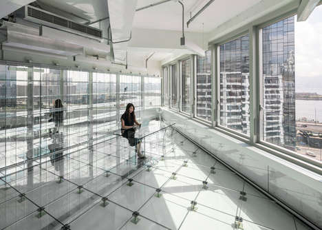 Renovated Transparent Offices - What Was Once a Factory is Now an Office with a Translucent Design