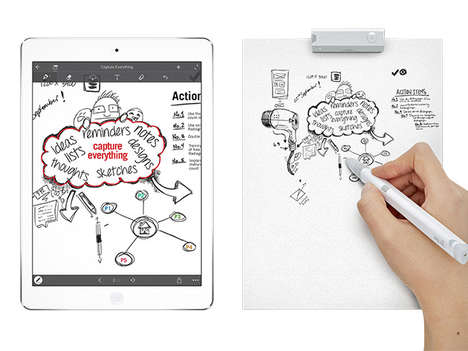 Digitized Handwriting Pens - This Digital Smartpen Allows You to Manipulate Handwritten Notes