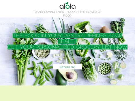 Smart Healthy Eating Apps - The 'alola' Grocery List App Supercharges Healthy Eating Regimes