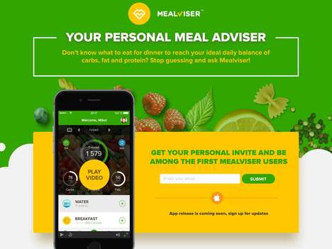 Meal-Analyzing Apps - The 'Mealviser' Meal Prepping App Helps Users Get the Right Nutrients