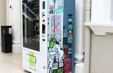 Literary Vending Machines - BooksActually Offers On-the-Go Reading Material in Busy Areas