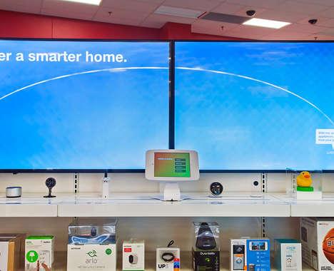 Smart Home Retail Showcases