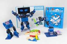 STEM-Teaching Robot Kits - The 'IronBot' Robot Toy Kit Enables Kids to Build their Own Companion