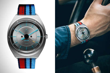 Anodized Racing Timepieces - The Autodromo Evoluzione Watch Turns Cars into Fashionable Wearable