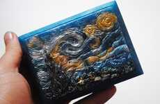 Famous Painting Soaps - Retailer NerdySoaps Renders Famed Art into Solid Carved Bath Products