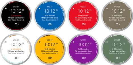 Email Watch Faces - Microsoft Has Revealed an Android Wear Version of Its Mobile Outlook Mail
