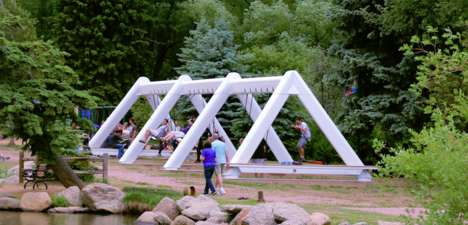 Musical Swing Installations - These Musical Swings Require Participant Cooperation to Play Music