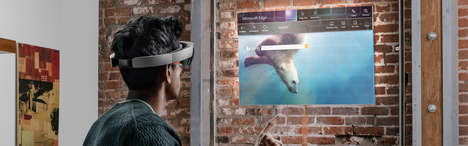 AR Email Applications - The Hololens App Allows Users to Check Their Email in Augmented Reality