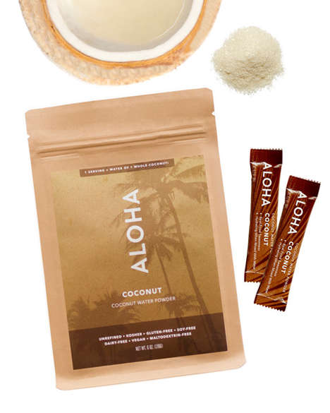 Coconut Water Powders - This Aloha Product Adds Hydrating Properties and Sweetness