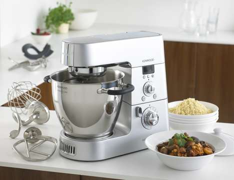 Multi-Use Preparation Appliances - The Kenwood Cooking Chef Streamlines Food Preparation