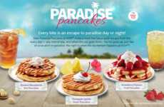 Tropical Pancake Flavors