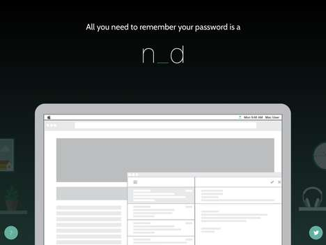 Anti-Cloud Password Keepers - The 'nOd' Helps Remember Your Password in a Secure Way