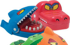 Miniature Dentist Board Games - These Alligator and Shark Dentist Games are Pocket-Sized