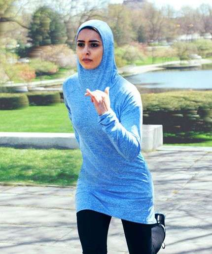 Modest Athletic Attire - Veil's New Activewear Line Caters to Modest Dressers