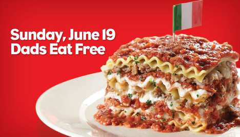 Father's Day Pasta Promotions - Spaghetti Warehouse is Celebrating Father's Day with Free Pasta