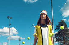 Tennis-Themed Editorials