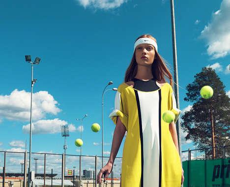 Tennis-Themed Editorials