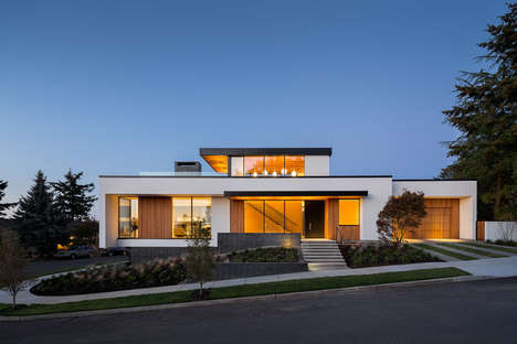 Efficient Home Designs - Hennebery Eddy Architects' Home is Loaded with Self-Sufficient Features