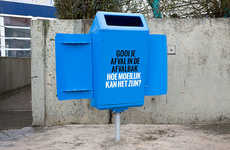 Competitive Garbage Can Campaigns