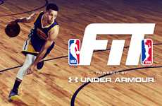 Professional Basketball Workouts - The NBA FIT App Aims to Help Improve Players' Game and Fitness